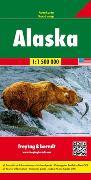 Cover-Bild zu Alaska, Autokarte 1:1,5 Mio. 1:1'500'000