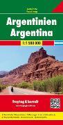 Cover-Bild zu Argentinien, Autokarte 1:1,5 Mio. 1:1'500'000