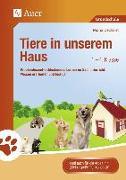 Cover-Bild zu Tiere in unserem Haus von Dechant, Mona