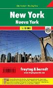Cover-Bild zu New York, Stadtplan 1:18.000, City Pocket + The Big Five. 1:18'000