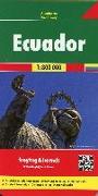 Cover-Bild zu Ecuador, Autokarte 1:800.000. 1:800'000
