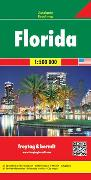 Cover-Bild zu Florida, Autokarte 1:500.000. 1:500'000