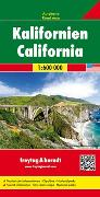 Cover-Bild zu Kalifornien, Autokarte 1:600.000. 1:600'000
