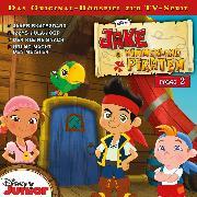 Cover-Bild zu Disney - Jake und die Nimmerland Piraten - Folge 2 (Audio Download) von Bingenheimer, Gabriele