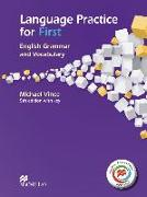 Cover-Bild zu Language Practice for First - Student's Book with MPO and Key von Vince, Michael