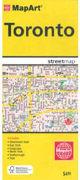 Cover-Bild zu Toronto Streetmap. 1:31'250