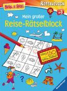 Cover-Bild zu Mein großer Reise-Rätselblock von Lohr, Stefan