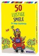 Cover-Bild zu 50 lustige Spiele für lange Autofahrten von Berger, Nicole (Text von)