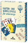 Cover-Bild zu Fernweh Karten- und Würfelspiele für unterwegs