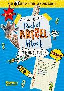 Cover-Bild zu Pocket-Rätsel-Block: Rätsel für unterwegs von Busch, Nikki