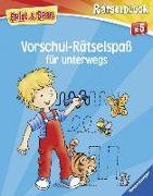 Cover-Bild zu Vorschul-Rätselspaß für unterwegs von Lohr, Stefan