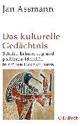Cover-Bild zu Das kulturelle Gedächtnis von Assmann, Jan