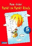 Cover-Bild zu Mein dicker Punkt zu Punkt Block von Muszynski, Eva (Illustr.)
