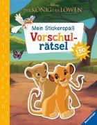 Cover-Bild zu Mein Stickerspaß Disney Der König der Löwen: Vorschulrätsel von Hahn, Stefanie