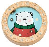 Cover-Bild zu Holz-Geduldspiel Weihnachtsfreunde