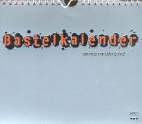 Cover-Bild zu Bastelkalender immerwährend silber
