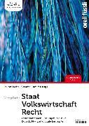 Cover-Bild zu Caduff, Claudio: Staat / Volkswirtschaft / Recht - Lehrerhandbuch (eBook)