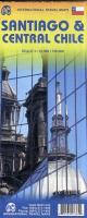 Cover-Bild zu Santiago und Central Chile. 1:12'500 / 1:720'000