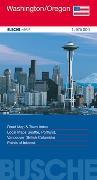 Cover-Bild zu USA Washington/Oregon. 1:975'000