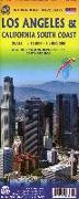 Cover-Bild zu Stadtplan Los Angeles 1:15 000 / California South Coast 1 : 800 000. 1:15'000