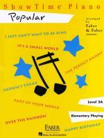 Cover-Bild zu Showtime Piano Popular Level 2a