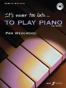 Cover-Bild zu It's Never Too Late to Play Piano