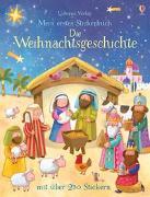 Cover-Bild zu Brooks, Felicity: Mein erstes Stickerbuch: Die Weihnachtsgeschichte
