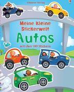 Cover-Bild zu Brooks, Felicity: Mein kleine Stickerwelt: Autos