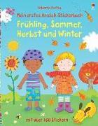 Cover-Bild zu Brooks, Felicity: Mein erstes Anzieh-Stickerbuch: Frühling, Sommer, Herbst und Winter