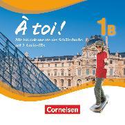 Cover-Bild zu À toi !, Fünfbändige Ausgabe, Band 1B, Audio-CDs von Gregor, Gertraud