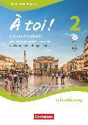 Cover-Bild zu À toi !, Bayern, Band 2, Carnet d'activités mit interaktiven Übungen auf scook.de - Lehrerfassung, Mit eingelegtem Förderheft, Audio-CD und Audios online von Héloury, Michèle