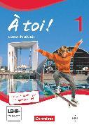Cover-Bild zu À toi !, Vierbändige Ausgabe, Band 1, Carnet d'activités mit Audios online und eingelegtem Förderheft von Héloury, Michèle