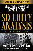 Cover-Bild zu Security Analysis von Graham, Benjamin