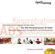 Cover-Bild zu Aust-Claus, Elisabeth: OptiMind Training- Das ADS-Therapieprogramm für Kinder
