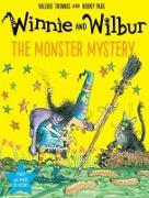 Cover-Bild zu Thomas, Valerie: Winnie and Wilbur: The Monster Mystery PB + CD