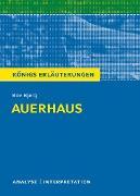 Cover-Bild zu Auerhaus. Königs Erläuterungen (eBook) von Bjerg, Bov