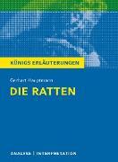 Cover-Bild zu Die Ratten. Königs Erläuterungen (eBook) von Hauptmann, Gerhart