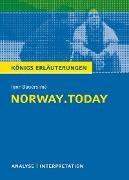 Cover-Bild zu norway.today. Königs Erläuterungen (eBook) von Rothenbühler, Daniel