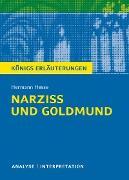 Cover-Bild zu Narziß und Goldmund. Königs Erläuterungen (eBook) von Herforth, Maria-Felicitas