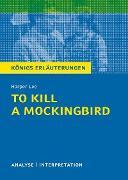 Cover-Bild zu To Kill a Mockingbird. Königs Erläuterungen (eBook) von Lee, Harper