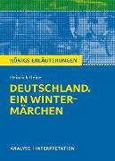 Cover-Bild zu Deutschland. Ein Wintermärchen. Königs Erläuterungen (eBook) von Heine, Heinrich