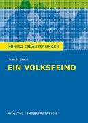 Cover-Bild zu Ein Volksfeind. Königs Erläuterungen (eBook) von Bernhardt, Rüdiger