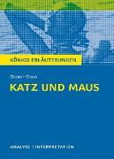 Cover-Bild zu Katz und Maus von Günter Grass. Textanalyse und Interpretation mit ausführlicher Inhaltsangabe und Abituraufgaben mit Lösungen (eBook) von Grass, Günter