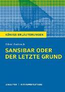 Cover-Bild zu Sansibar oder der letzte Grund. Königs Erläuterungen (eBook) von Andersch, Alfred