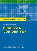 Cover-Bild zu Draußen vor der Tür von Wolfgang Borchert. Textanalyse und Interpretation mit ausführlicher Inhaltsangabe und Abituraufgaben mit Lösungen (eBook) von Borchert, Wolfgang