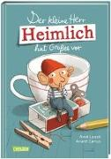Cover-Bild zu Der kleine Herr Heimlich hat Großes vor von Loose, Anke
