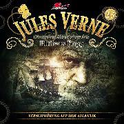 Cover-Bild zu Freund, Marc: Jules Verne, Die neuen Abenteuer des Phileas Fogg, Folge 23: Verschwörung auf dem Atlantik (Audio Download)
