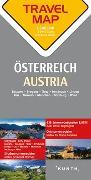 Cover-Bild zu Reisekarte Österreich 1:300.000. 1:300'000