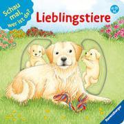 Cover-Bild zu Schwarz, Regina: Schau mal, wer ist da? Lieblingstiere