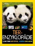 Cover-Bild zu Tier-Enzyklopädie: 2.500 Tiere mit Fotos, Karten und mehr von Spelman, Lucy